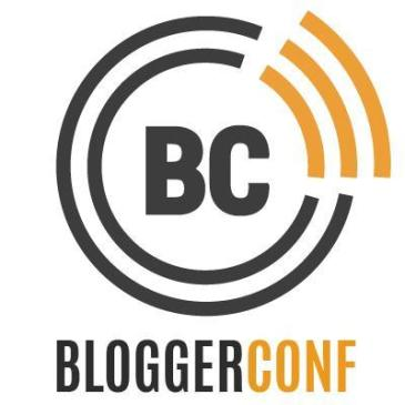 Bloggerconf 2015 top tips and speakers